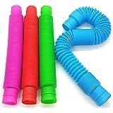 BUNMO Pop Tubes Sensory Toy - 4 Pack