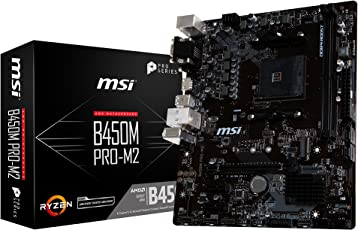 MSI B450M PRO-M2 M-ATX マザーボード [AMD B450チップセット搭載] MB4531