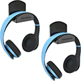 TotalMount Headset and Headphone Stand – Holder Won't Damage Your Wall with Screws or Permanent Adhesive (Premium Black Hange