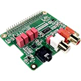 InnoMaker Raspberry Pi HIFI DAC HAT PCM5122 HIFI DAC Audio Card Expansion Board for Raspberry Pi 4 3 B+ Pi Zero etc. (DAC HAT