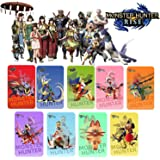 9 Pieces for Monster Hunter Rise NFC Card. Include: Palamute, Palico, Magnamalo. Switch / Switch Lite compatible. Third-party