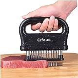 Meat Tenderizer, 48 Stainless Steel Ultra Sharp Needle Blade Tenderizer for Tenderizing Steak, Beef with Cleaning Brush,Durab