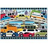 Melissa & Doug 4421 Traffic Jam Jumbo Jigsaw Floor Puzzle (24 pcs, 2 x 3 feet Long)