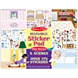 Melissa & Doug 4197 Reusable Sticker Pad Set: Play House - 175+ Reusable Stickers