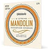D'Addario EJ74 Phosphor Bronze Mandolin Strings, Medium, 11-40