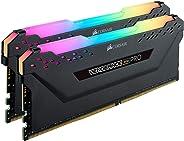 CORSAIR DDR4-3000MHz デスクトップPC用 メモリ VENGEANCE RGB PRO シリーズ 64GB [32GB×2枚] CMW64GX4M2D3000C16