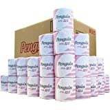 【ケース販売】丸富製紙 ペンギン トイレットロール 個包装 32.5m 1Rダブル 60 個入り