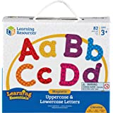 Learning Resources LER7725 Magnetic Uppercase and Lowercase Letters Set (82 Piece)