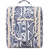 Hanging Travel Toiletry Bag Kit Cosmetic Makeup Organizer for Women and Men (Elephant)