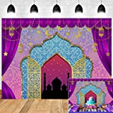 Aladdin Backdrop Photography Vinyl 8x6ft Photo Booth Studio Props Princess Baby Shower Arabian Moroccan Nights Birthday Party
