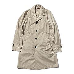 Packable Balmacaan Coat 51-19-0101-012: Beige