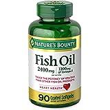 Nature's Bounty Fish 2400 mg OilSoftgels, 90 ea
