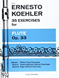 ケーラー: フルートのための35の練習曲 第1巻/カール・フィッシャー社
