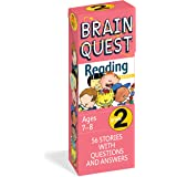 Brain Quest 2nd Grade Reading Q&A Cards: 56 Stories with Questions and Answers. Curriculum-based! Teacher-approved!