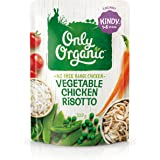 Only Organic Vegetable Chicken Risotto Kindy 1-5 Years - 220g