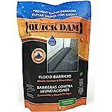 Quick Dam QD65-1 Water Activated Flood Barrier- 5 Feet-1/Pack, 5-ft, Black