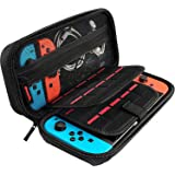 T Tersely Carry Case Compatible with New Switch OLED and Nintendo Switch Console, Protective Hard Portable Travel Case Cover