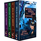 Witch Hazel Lane Mysteries: Paranormal Cozy Boxset Books 1-4 (English Edition)