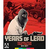 Years Of Lead: Five Classic Italian Crime Thrillers 1973-1977 (Limited Edition)