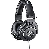 audio-technica プロフェッショナルモニターヘッドホン ATH-M30x ブラック スタジオレコーディング…