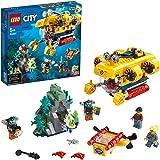 レゴ(LEGO) シティ 海の探検隊 深海底・水中探査潜水艦 ダイビングアドベンチャー 男の子 5才以上向けおもちゃ 60264