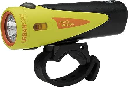 light&Motion(ライトアンドモーション) 自転車用ヘッドライト URBAN500 [アーバン500] Citraveza アメリカ生産 ANSI-FL-1 IP67 耐塵防水 USB充電 日本正規品