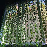 So Cal Pro Fake Ivy Leaves Artificial Greenery Vines for Room Decor Leaves Room Decor Fake Leaves Ivy Garland Faux Vines Wedd