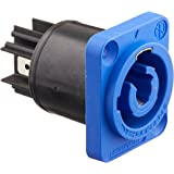 Neutrik NAC3MPA-1 AC Powercon Receipt-in, Blue