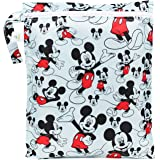 Bumkins Disney Baby Zippered Wet Bag, Mickey Mouse Classic