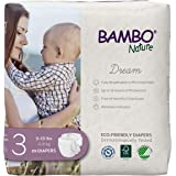Bambo Nature Premium Eco-Friendly Baby Diapers, Size 3 (9-18 Lbs), 174 Count, 6 Packs of 29
