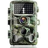 【2020 Upgrade】 Campark Trail Game Camera 16MP 1080P Night Vision Waterproof Hunting Scouting Cam for Wildlife Monitoring with