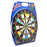Toyrific Kids Magnetic Dartboard Set with 6 Magnet Darts