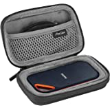 ProCase Hard Travel Case for SanDisk 250GB/ 500GB/ 1TB/ 2TB Extreme Portable SSD, SDSSDE60-500G-G25 Shockproof EVA Hard Shell