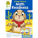Math Readiness K-1 Press-Out Book