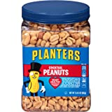Planters Salted Cocktail Peanuts, 35 ounce Resealable Jar - Heart Healthy Salted Peanuts - A Good Source of Essential Nutrien