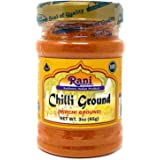 Rani Chilli Powder (Mirchi) Ground Indian Spice 3oz (85g) ~ All Natural, Salt-Free   Vegan   No Colors   Gluten Friendly   No