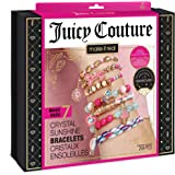 Make It Real – Juicy Couture Crystal Sunshine Bracelets - DIY Charm Bracelet Kit for Teen Girls - Jewelry Making Supplies wit