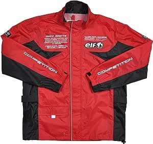 エルフ(ELF) バイク用レインスーツ セパレート RD M ELR-3291