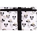 J.L. Childress Disney Baby Full Body Portable Changing Pad for Baby, Mickey Minnie Ivory