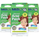 Acne Care Pimple Patch Absorbing Cover - Hydrocolloid Bandages (108 Count) Two Universal Sizes, Acne Spot Treatment for Face
