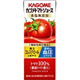 【セット商品】[2CS] カゴメトマトジュース 食塩無添加(200ml×24本)×2箱