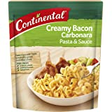CONTINENTAL Pasta & Sauce (Side Dish) | Creamy Bacon Carbonara, 85g
