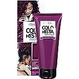 L'Oréal Paris Colourista Washout Burgundy Hair (Semi-Permanent Hair Colour)
