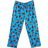 Nintendo Men's Super Mario Classic Blue Lounge Pants