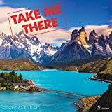 TF PUBLISHING 2021 Take Me There Monthly Wall Calendar - Scenic Photography - Appointment Tracker - Contacts and Notes Page -