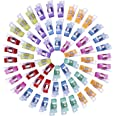 100 Pack Wonder Clips Sewing Clips For Sewing For Crafting Quilting With Tin Box Quilting Quilt Clips