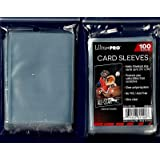 5 (Five) Pack Lot of 100 Soft Sleeves / Penny Sleeve for Baseball Cards & Other Sports Cards
