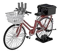リトルアーモリー 1/12 LM005 通学自転車 指定防衛校用 マルーン 精密機材運搬型
