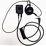 MKI-P1-4ボタンコントロールマイク + MKI-E1 –耳掛けイヤホンセット