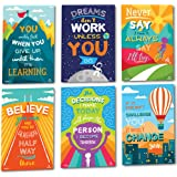 Sproutbrite Classroom Decorations - Motivational Posters - Educational and Inspirational Growth Mindset for Teacher and Stude